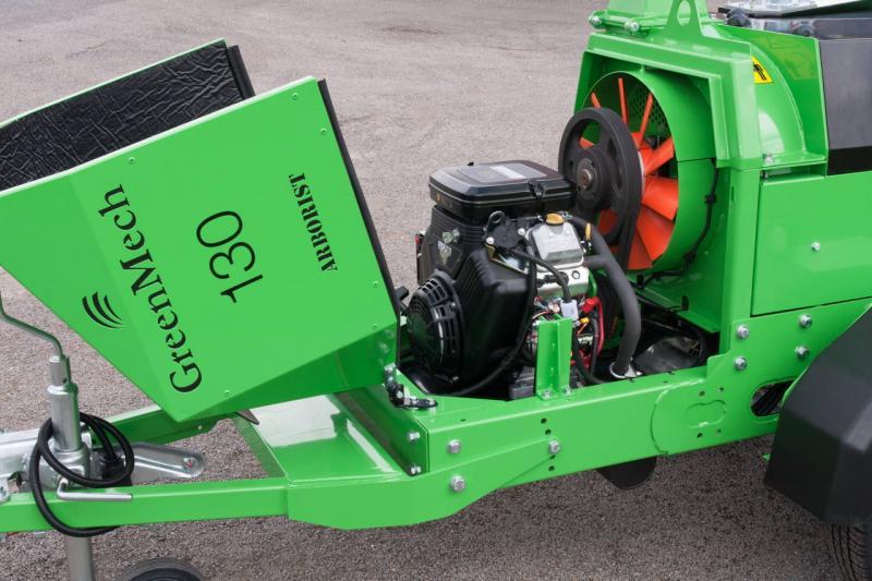 Štěpkovač GreenMech ARBORIST 130