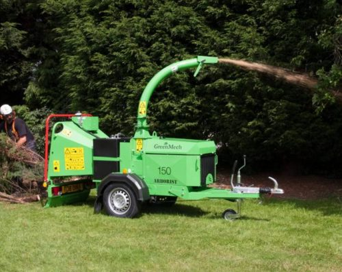 Štěpkovač GreenMech ARBORIST 150
