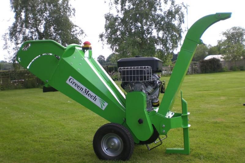 Štěpkovač GreenMech CS100