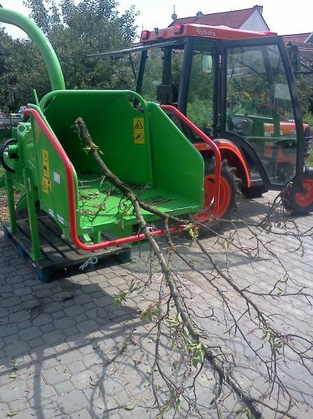 Štěpkovač GreenMech ECO150TMP