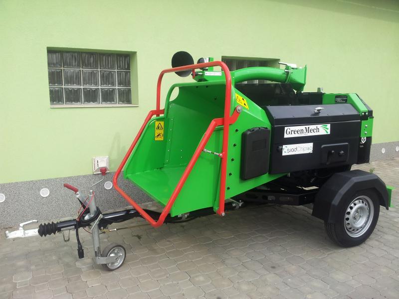 Štěpkovač GreenMech QuadChip 160 diesel