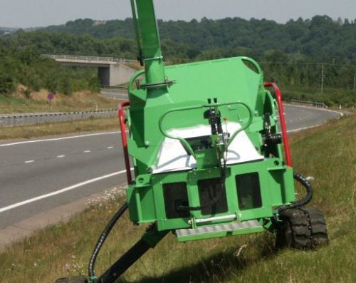 Štěpkovač GreenMech SAFE-Trak 19-28