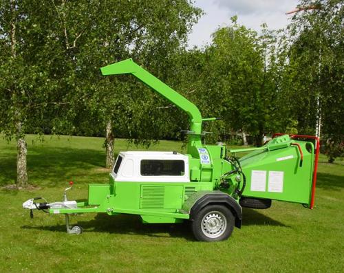 Štěpkovač GreenMech ARBORIST 19-28MT50 diesel