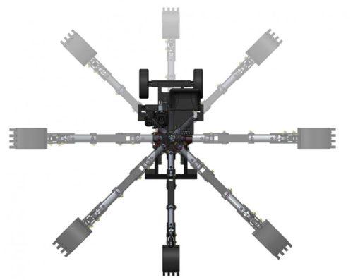Mininakladač Smartpel Spider