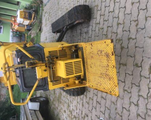 Bazar GreenMech Safe-Trak vysunuty podvozek zepredu