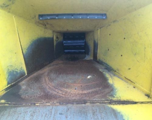 Bazar GreenMech Safe-Trak detail násypky